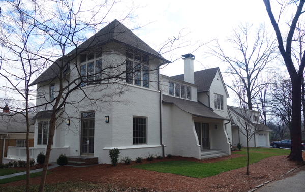 Charles Voysey Infilled Here. Midtown Atlanta infill new home inspired by Charles Voysey. See more on Houzz.