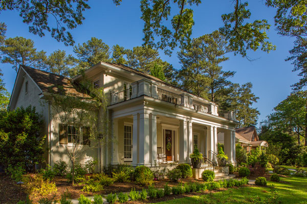 Propositionally Correct Morningside Atlanta restyling for a client moving back into the city using classical proportions. See more on Houzz.