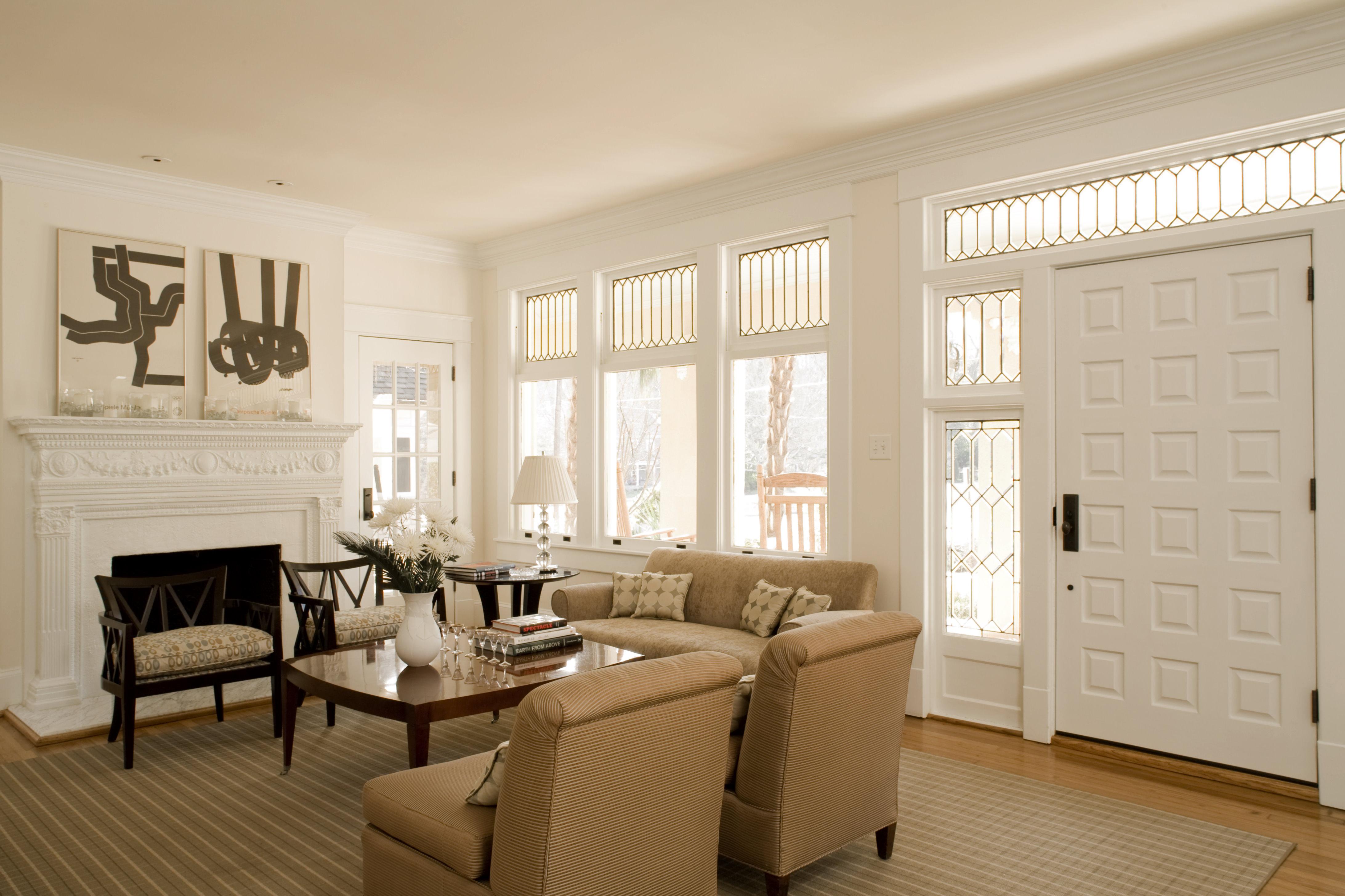 Jones Pierce The Prado Residence Living Room Residential
