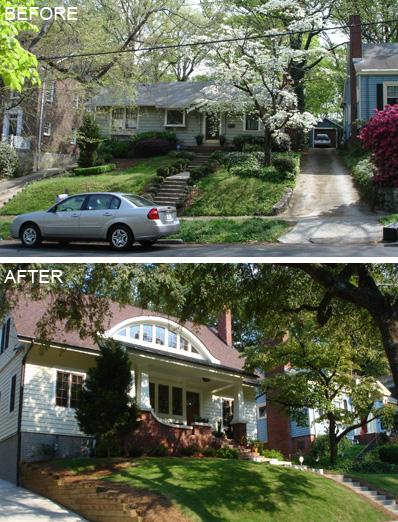 Virginia Highlands Atlanta home renovation design by Jones Pierce Architects