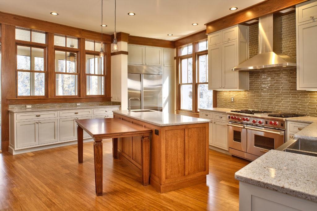 1141 Lanier Blvd Kitchen by Jones Pierce Architects