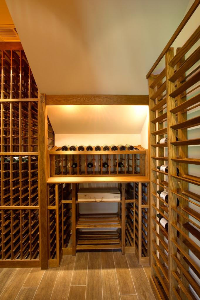 1141 Lanier Blvd Wine cellar