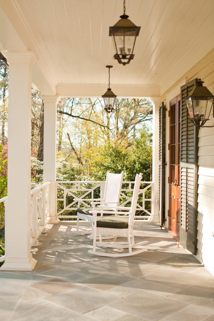 Brookhaven front porch