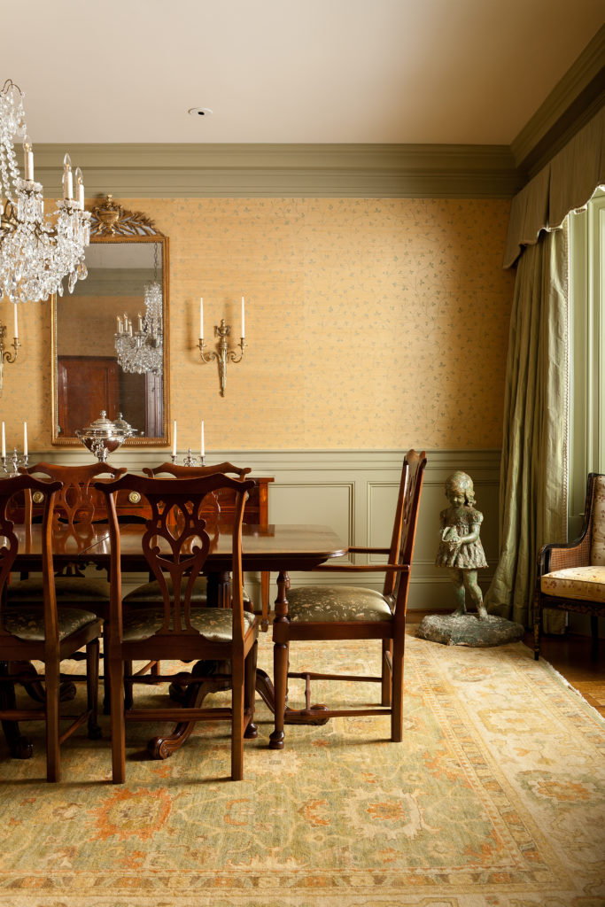 Brookhaven Dining Room by Jones Pierce Architects