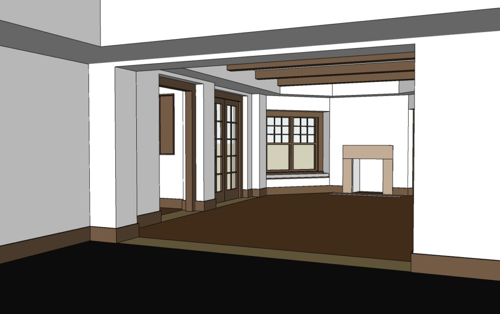 Duluth Basement 3D Model Interior