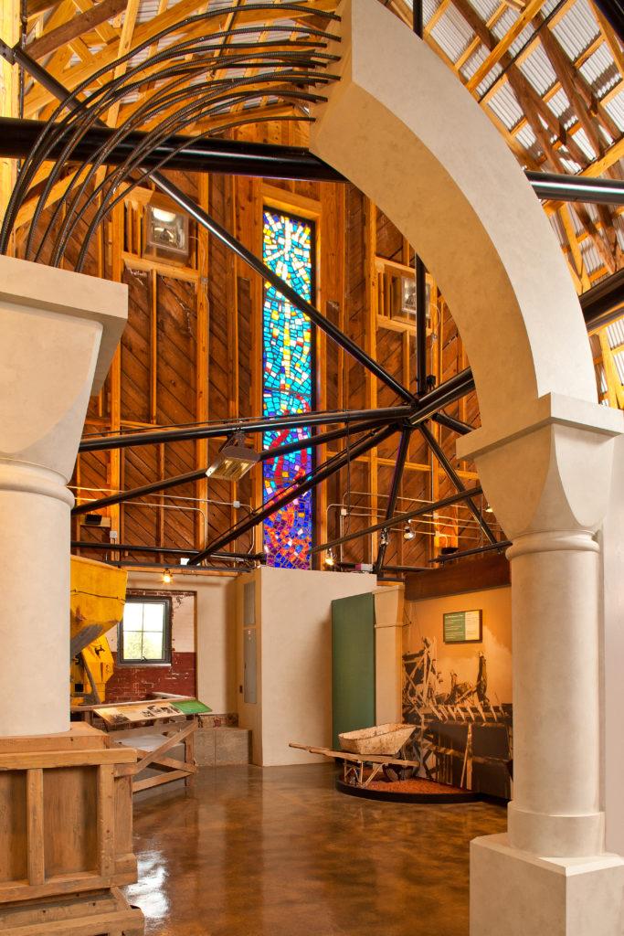 Monastic Heritage Center Interior