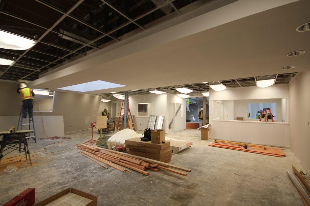 Boys and Girls Club Renovation interior