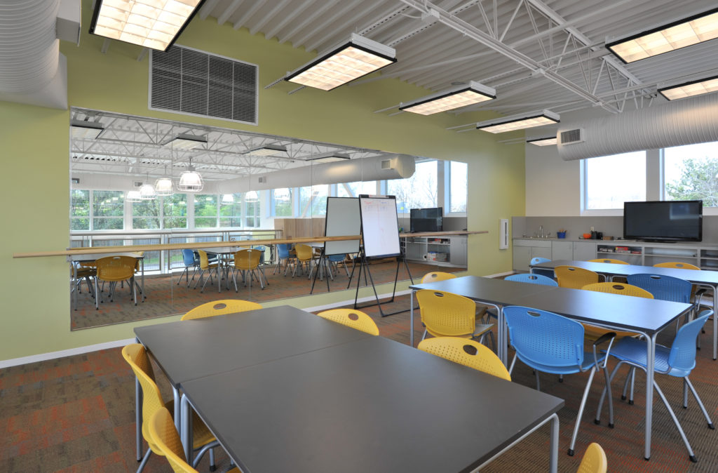 Boys and Girls Club learning space for the kids