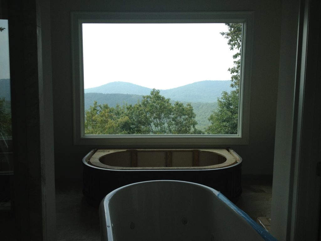 Big Canoe Master Bathroom with Views