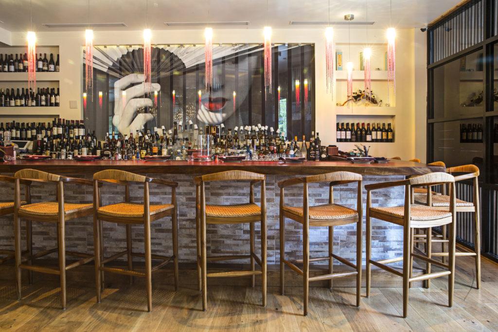 MF Sushi Bar designed by Jones Pierce Architects