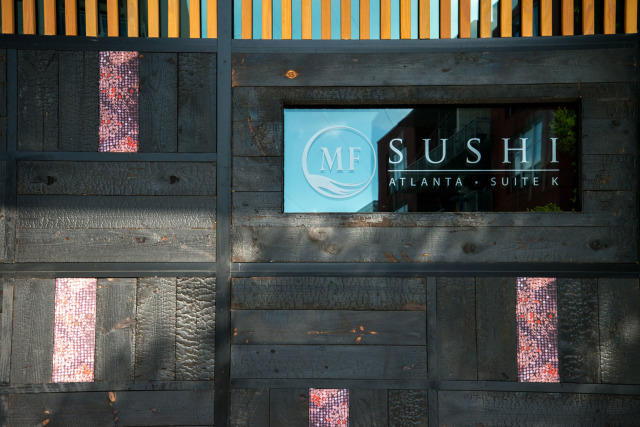Exterior Sign on MF Sushi