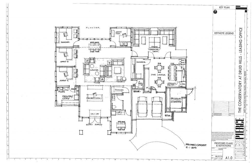 Rebrand. Conceptual Floor Plan.