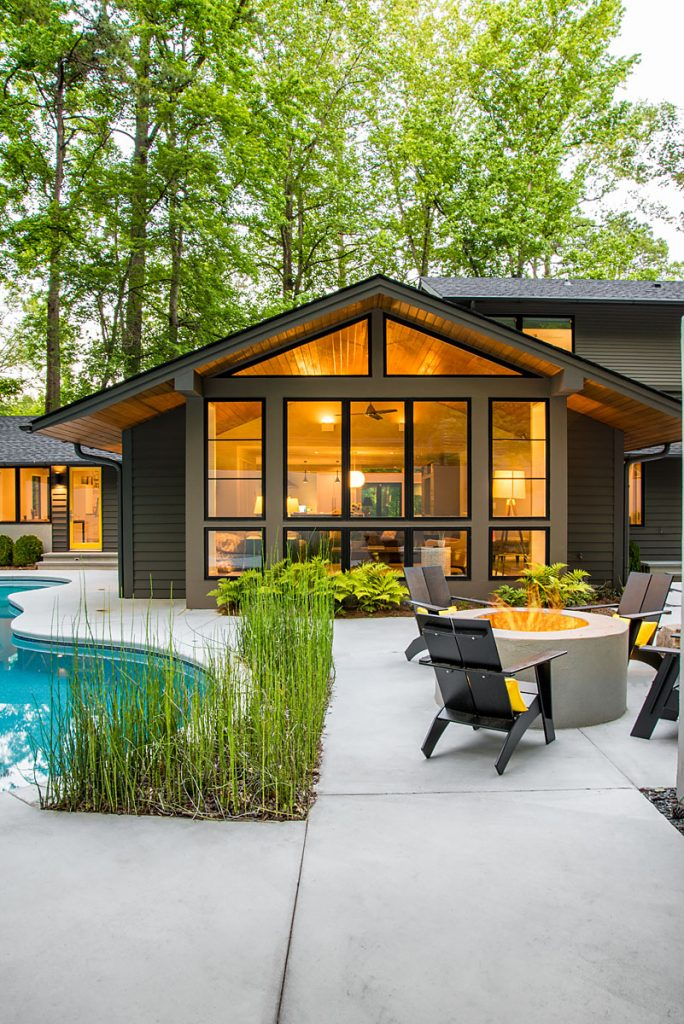 High Quality Modern Homes Want More Glass. Gang And Enlarge Openings When Possible.  Raising Header Heights Allows The View To Expand Out And Takes Away The  Compression ...