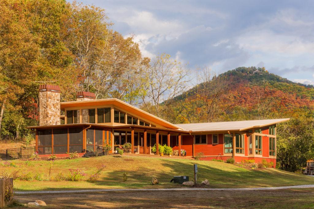 Olansky Residence. Retirement Home. Mountain Home. Jones Pierce Architects Residential Architecture