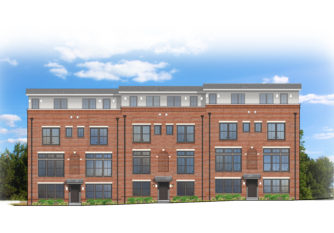 Townhome Rendered Elevation
