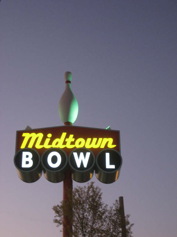 Midtown Bowl New Sign