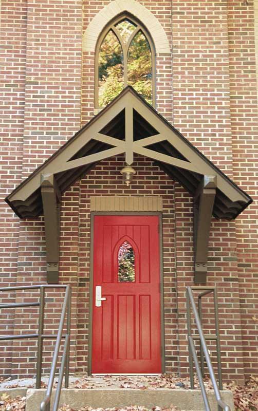 holy trinity red door