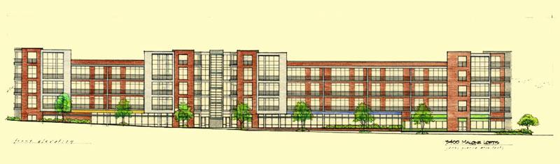 eco lofts rendering