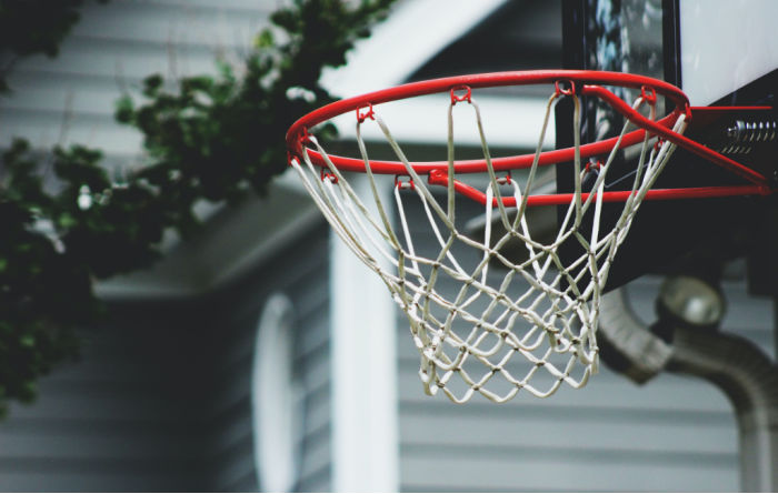shoot hoops in your front yard