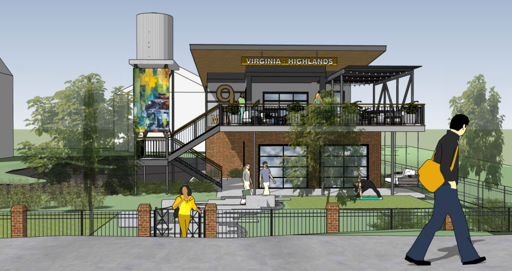 Concept of the future fitness facility for Virginia Highlands Apartment Homes