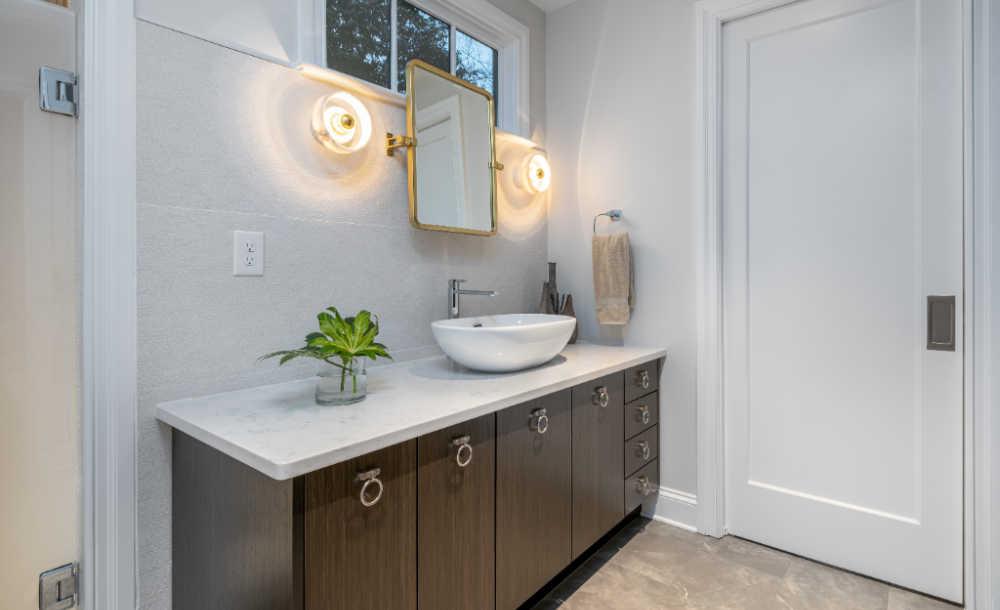 dual purpose bathroom renovation
