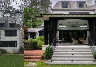 before and after Atlanta home renovation