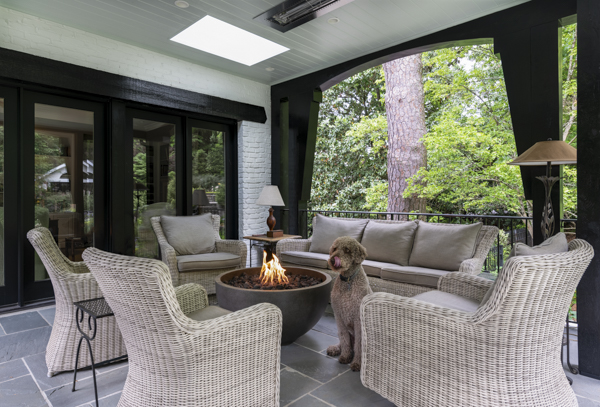 porch life is for our furry friends, too